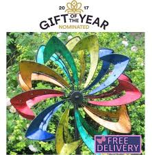 wind spinners with led lights malvern starlight garden wind sculpture spinner built in dynamo