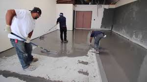 life deck install urethane cement at san diego craft brewery youtube