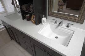 wooden bathroom countertop ideas with white vanity sink home
