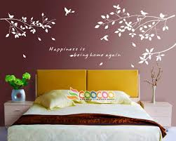 Home Decor Decals Wall Decor Decal Sticker Removable Tree Branches Birds Dc0305