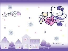 wallpaper hello kitty violet hello kitty purple wallpaper desktop background bozhuwallpaper