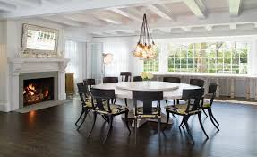 Exellent Round Formal Dining Room Tables The Furniture Curvy - Large round kitchen table