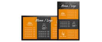 menu board maker best and various templates ideas