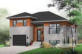 Large Kitchen House Plans W3490 Contemporary 3 Bedroom Split Level House Plan Kitchen