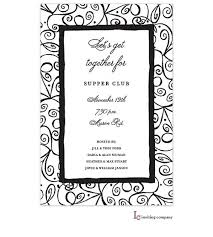64 best black and white party invitations images on pinterest