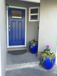 front door color dignity blue sherwin williams home pinterest