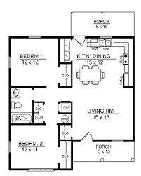 1 story home plans one bedroom house floor plans floor plans 1 story cottage home