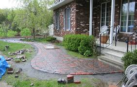 Cutting Patio Pavers Stepping Stones Walkways Idea Stone Walkway Pictures Natural