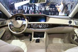 mercedes maybach s500 mercedes maybach s500 dashboard at the 2015 chengdu motor show