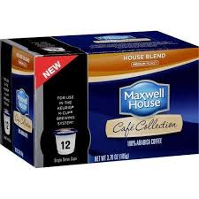Blend K Cups Maxwell House Cafe Collection House Blend K Cup 12ct
