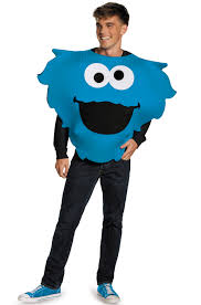 cookie monster and elmo halloween costumes full plush cookie monster prestige costume purecostumes com