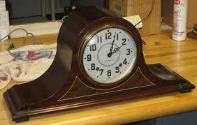 Mantle Clock Kits Two Seth Thomas U201cplymouth U201d Tambour Mantel Clocks 1938 And 1940