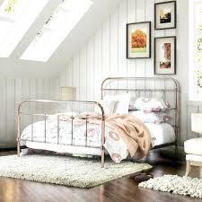 Paint Metal Bed Frame Gold Metal Bed Frame Savalli Me