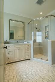 cultured marble shower bathroom traditional with alcove cabinet