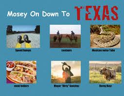 Texas Meme - mosey on down to texas why not visit edits know your meme