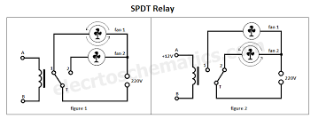 fan relay switch spdt relay switch png