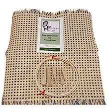 amazon com chair caning cane caned seat replacement repair kit