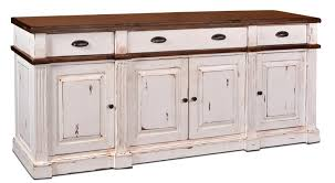 rustic credenza rustic buffet wood crendza