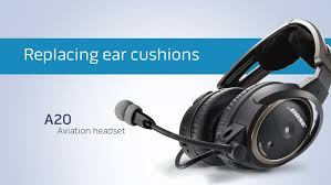 Bose Ae2 Replacement Ear Cushions How To Replace The Ear Cushions On Your Bose A20 Aviation Headset