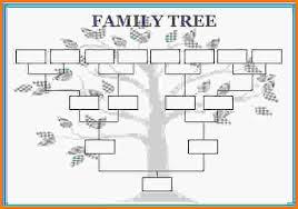7 family tree template word letterhead template sample