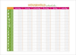 Weekly Family Calendar Template family schedule templates 14 free word excel pdf format