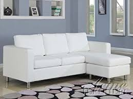 Couch Size Amazon Com 2 Pc Kemen Collection White Leather Like Vinyl