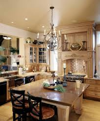 traditional country kitchens kitchen with floor nickel pendant