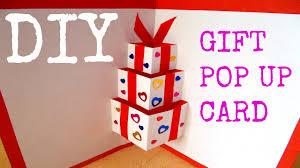 how to make handmade pop up birthday cards diy gift pop up card handmade card diy birthday card diy 3d