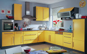 backsplash for yellow kitchen glass doors of the wall cabinets combined with wooden handles will