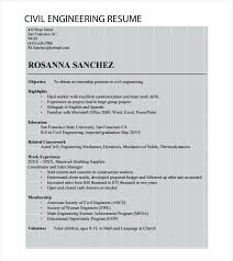 sle resume for civil engineering internship reports resume sle for civil engineer fresher civil engineering resume