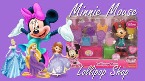 minnie mouse toys lollipop shop mickey mouse clubhouse