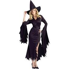 Walmart Halloween Costumes Teenage Girls Gothic Witch Halloween Costume Walmart