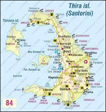 Greece Maps Santorini Greece Map