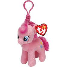 baby keychain image pinkie pie ty beanie baby keychain jpg my pony