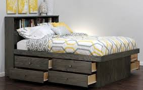 dark wood bed frame version 2 the best wood furniture