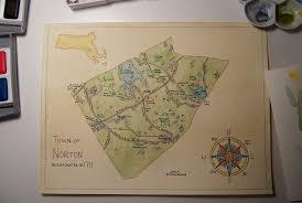 map of northton ma river s edge maps map commission norton ma