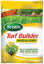 amazon com scotts turf builder lawn food weed and feed lawn