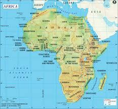 Desert Map Images Africa Map Libyan Desert