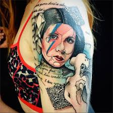 help us princess leia tattoos you u0027re our only hope pursed lips