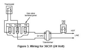 gas valve wiring diagram gas wiring diagrams instruction