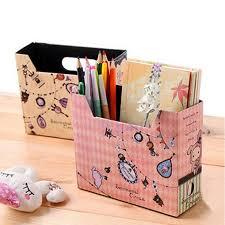 boite de rangement papier bureau boîte à rangement en papier bricolage cirque bureau papeterie