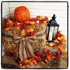 Fall Decorations For Outside The Home Best 20 Hay Bale Decorations Ideas On Pinterest Hay Bale Seats