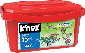 amazon com k u0027nex deluxe building set u2013 375 pieces u2013 for ages 7