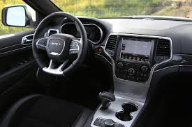 jeep grand interior review 2015 jeep grand cherokee srt canadian auto review