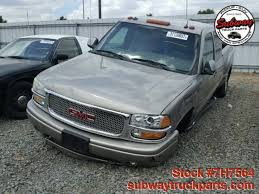 used 2003 gmc sierra denali 1500 quadrasteer 6 0l parts sacramento