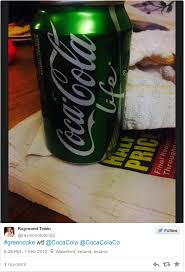 Soda Bottle Monsters Totally Green - how is the new green coke different from the rest thejournal ie