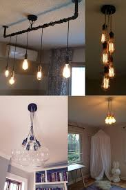 Cloth Cord Pendant Light 5 Pendant Light Cluster Hanging Pendant Light Industrial