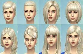 hair color to download for sims 3 mod the sims targaryen blonde new non default colour for all
