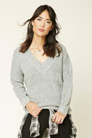 boxy cropped sweater forever21