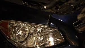 how to replace headlamp or headlights on 2008 2009 2010 2011 and